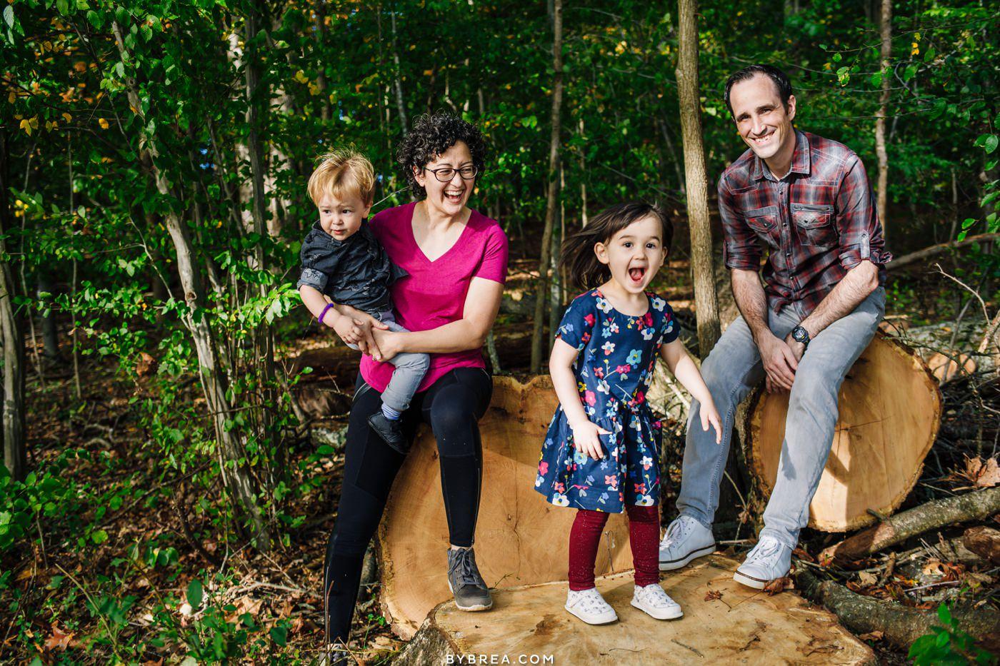 Family Photos at Centennial Park